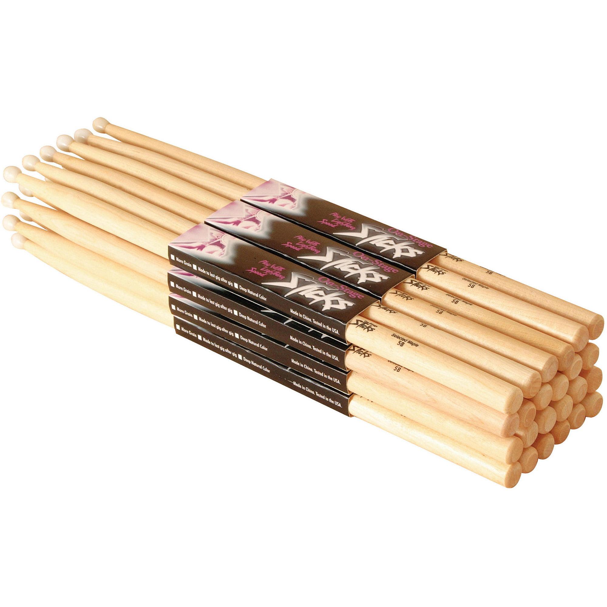On-Stage Maple Drumsticks