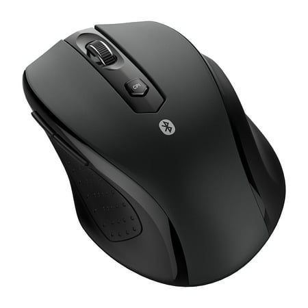 JETech M0884 Bluetooth Wireless Mouse for PC, Mac, and Android OS Tablet with 12-month battery