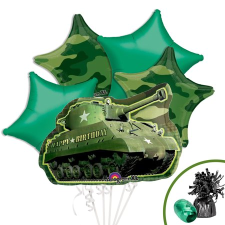 Adult Supercenter (Army Party Balloon Kit - Party)