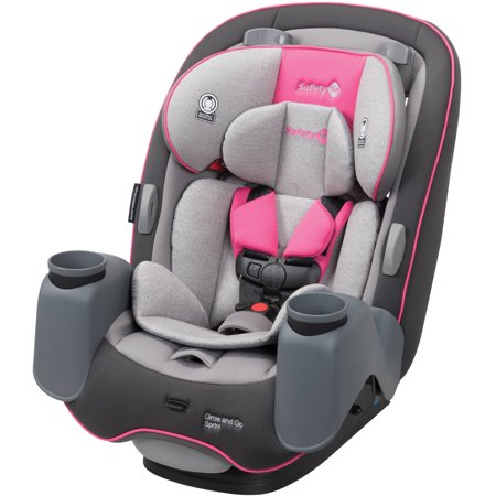 Safety 1st Grow and Go Sprint 3-in-1 Convertible Car Seat, Camellia -  Walmart com