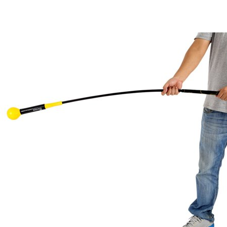 BALIGH US Indoor Golf Swing Trainer Aid Practice Power Strength Tempo Whip Flex Train[S]