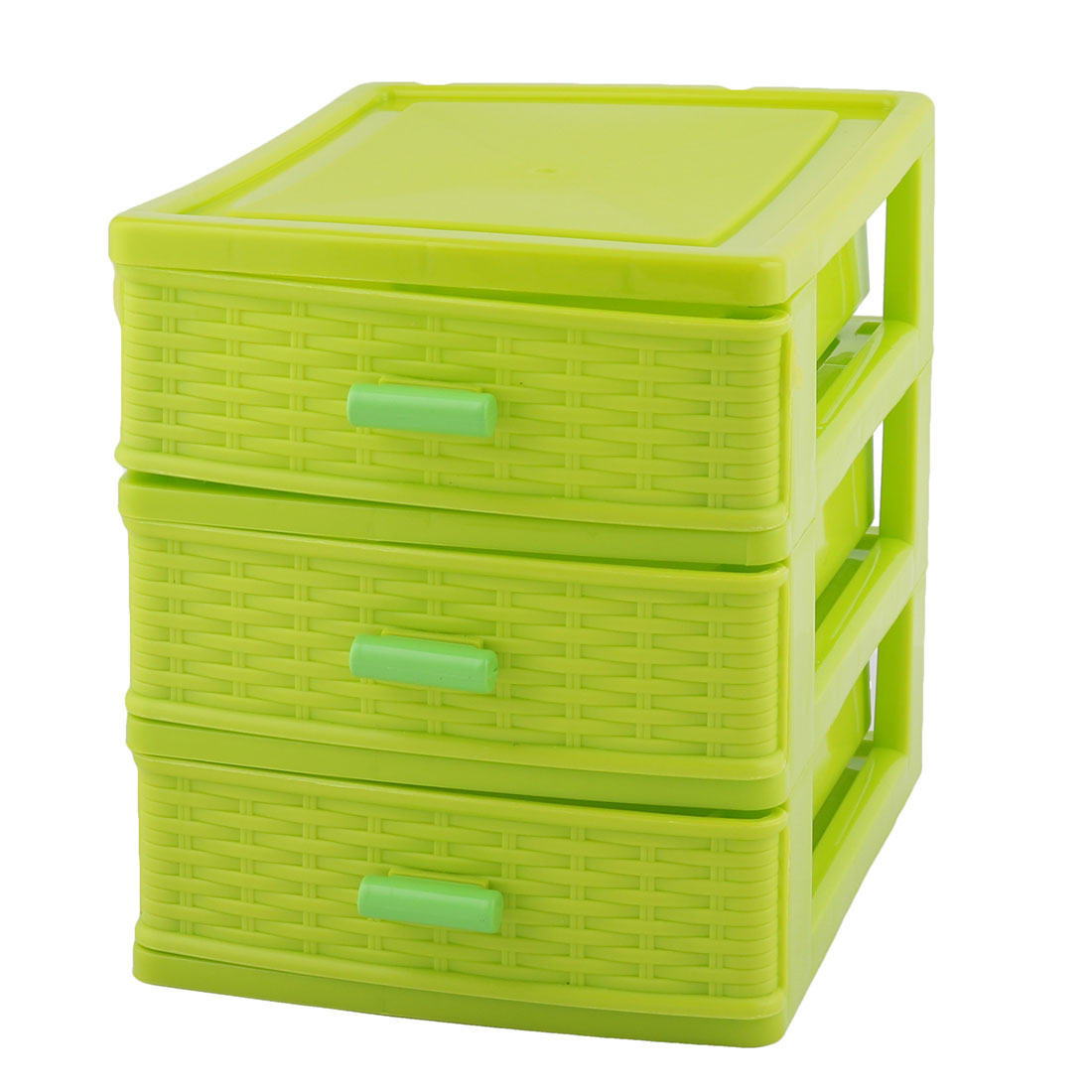 Unique Bargains Household Dresser Plastic 3 Layers Cosmetics Lipstick Hairpin Holder Case Storage Box