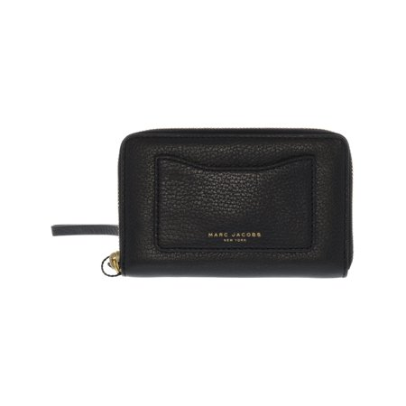Marc Jacobs Women's Recruit Zip Phone Leather Wristlet - (Best Marc By Marc Jacobs Bag)