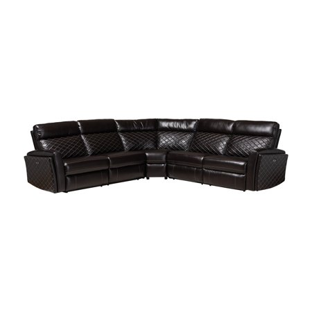 Baxton Studio Alvar Modern and Contemporary Black Faux ...