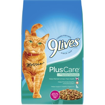 9Lives Plus Care Dry Cat Food, 3.15-Pound by Big Heart Pet Brands