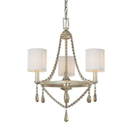 Capital Lighting Fifth Avenue Collection 3 Light Winter Gold Chandelier