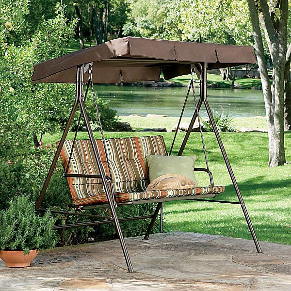 Garden Winds Replacement Canopy Top for JCP 2-Person Swing