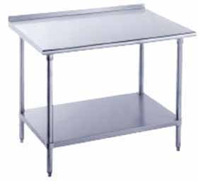 "Advance Tabco Work Table 24"" x 30"" Wide - FAG-302"