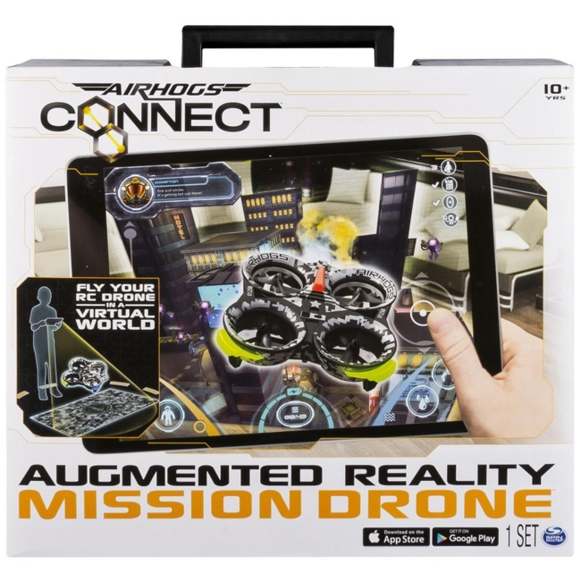 Spin Master Air Hogs Connect Augmented Reality Mission Drone by SPIN MASTER