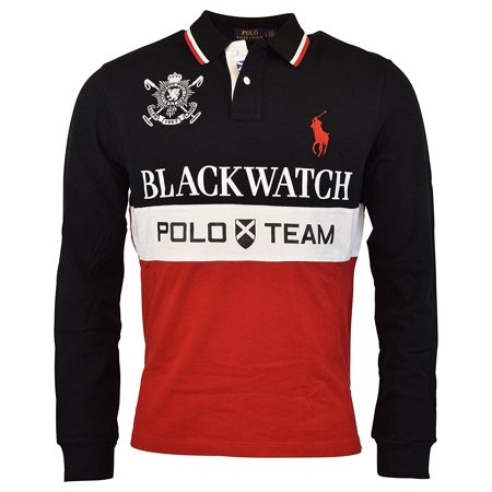 b5fea3b78253 Polo Ralph Lauren - New 3316-3 Polo Ralph Lauren Mens Red Black ...