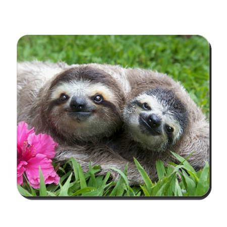 CafePress - Sunshine  Sammy Friends For Life - Non-slip Rubber Mousepad, Gaming Mouse Pad ()