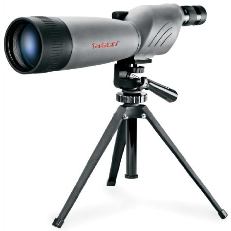 Tasco World Class 20-60x80 Zoom Waterproof Fogproof Spotting Scope w Tripod by