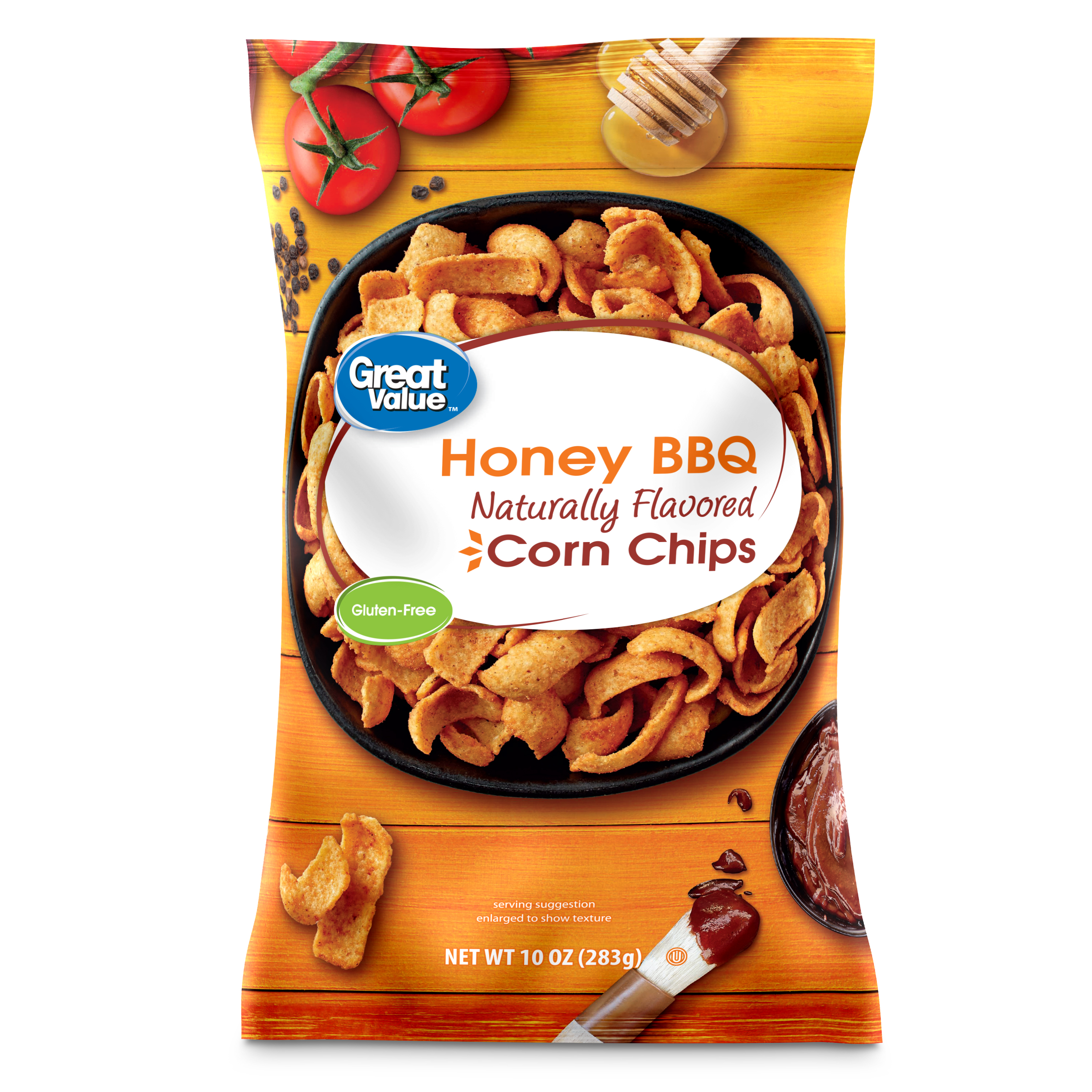 Great Value Honey Barbeque Corn Chips