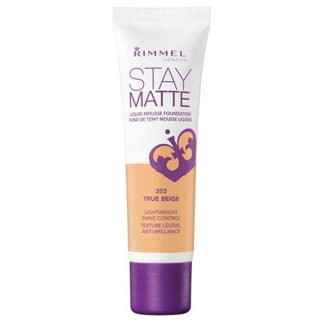 Rimmel Stay Matte Foundation, True Beige