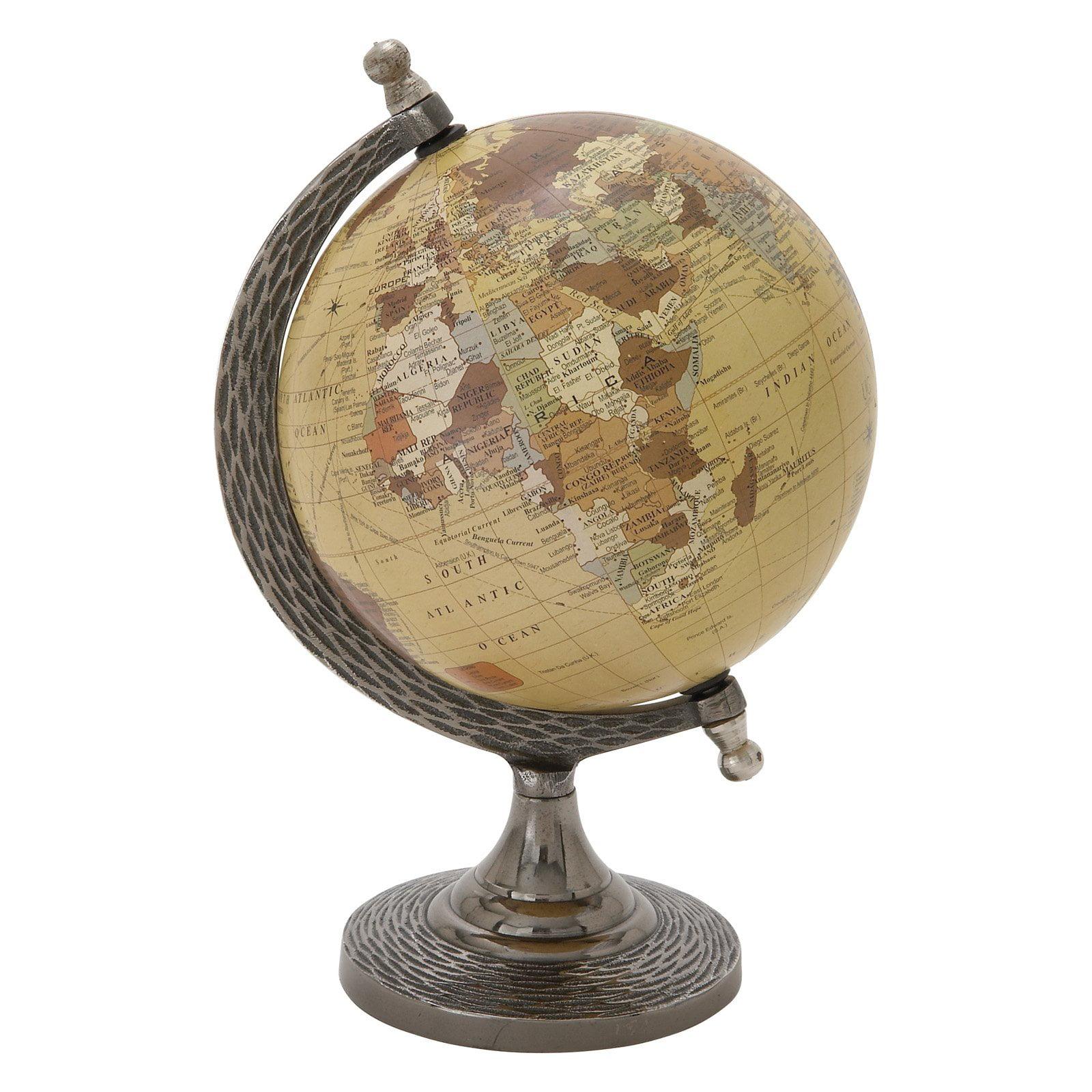 Elegant And Stunning Metal Pvc Globe by Benzara