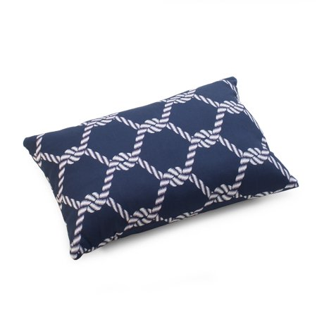 Coral Coast Nautical 18 x 12 in. Lumbar Toss Pillow
