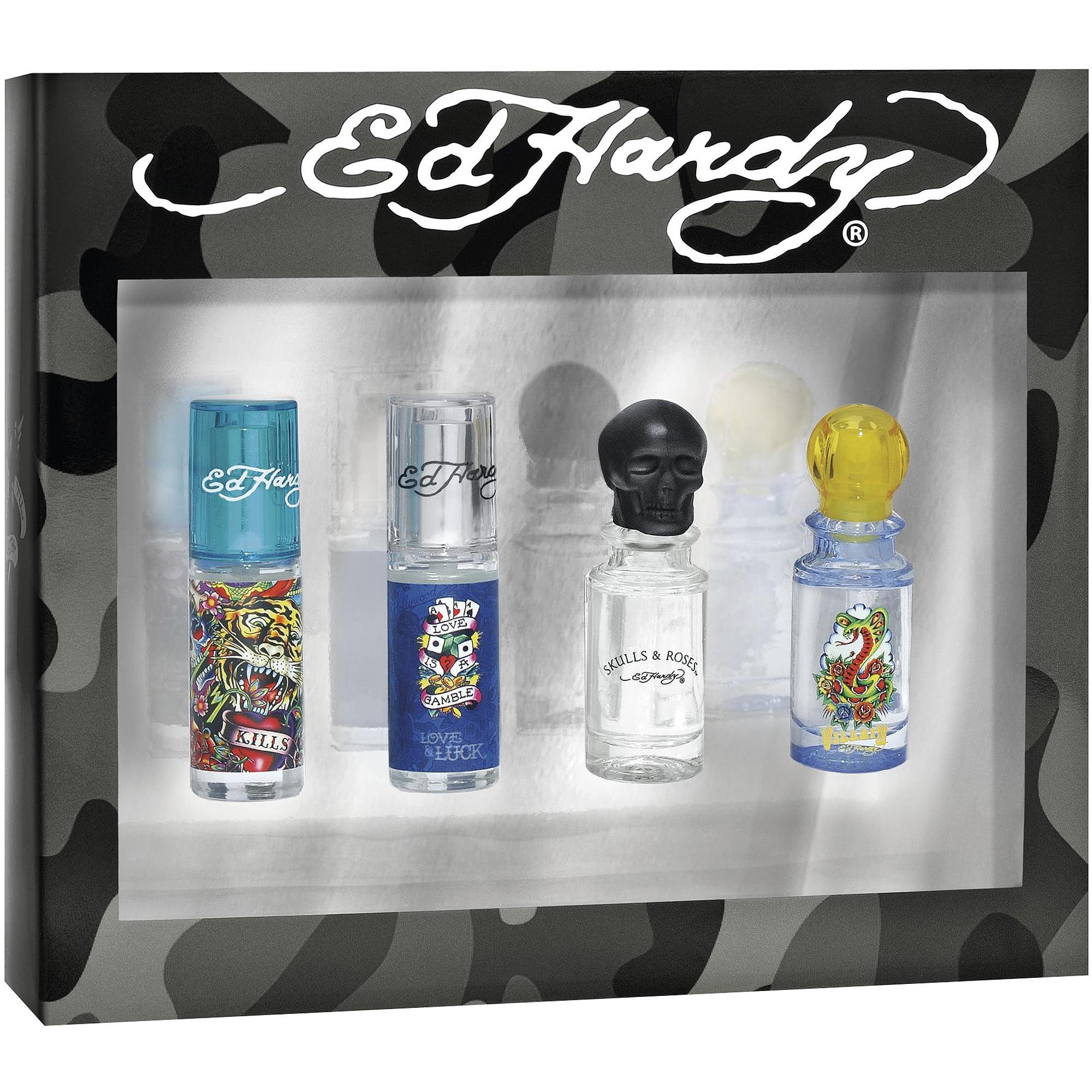Ed Hardy Hearts Daggers For Women Eau De Parfum Spray 3 4 Oz: Ed Hardy Hearts & Daggers For Men Eau De Toilette, 1 Fl Oz