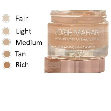 Josie Maran Whipped Argan Oil Beauty Butter Foundation - (Josie Maran Vibrancy Argan Oil Foundation Fluid)
