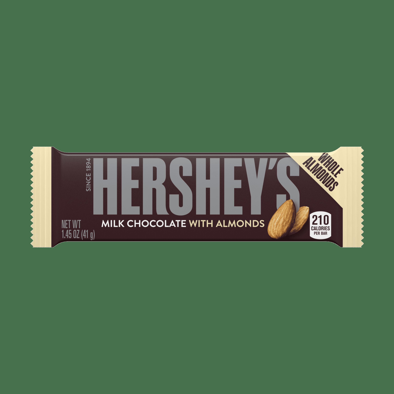 Hershey's, Milk Chocolate with Almonds Bar, 1.45 Oz