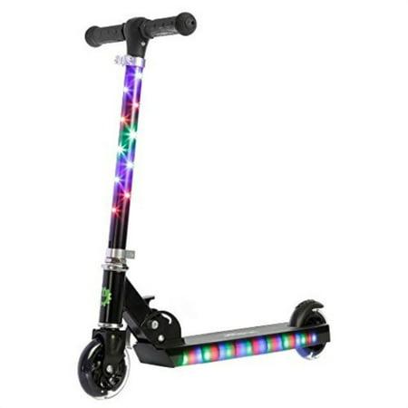 Jetson Jupiter Scooter with LED Lights - Black~