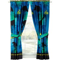 "Universal Jurassic World ""Mesozoic Era"" Boys Bedroom Curtain Set"