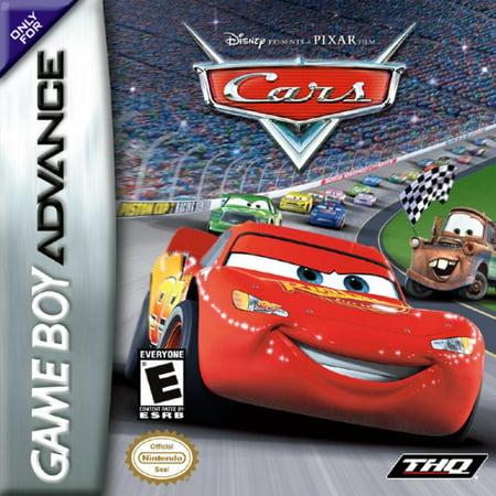Cars - Nintendo Gameboy Advance GBA (Refurbished) (Nintendo Game Boy Advance Box)