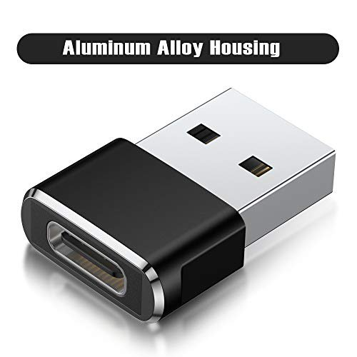 USB C Female to USB Male Adapter iPhone 11 12 Pro Max ...
