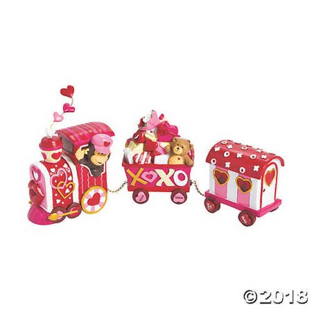 Valentine's Day Tabletop Train Decoration - Decoration For Valentine's Day