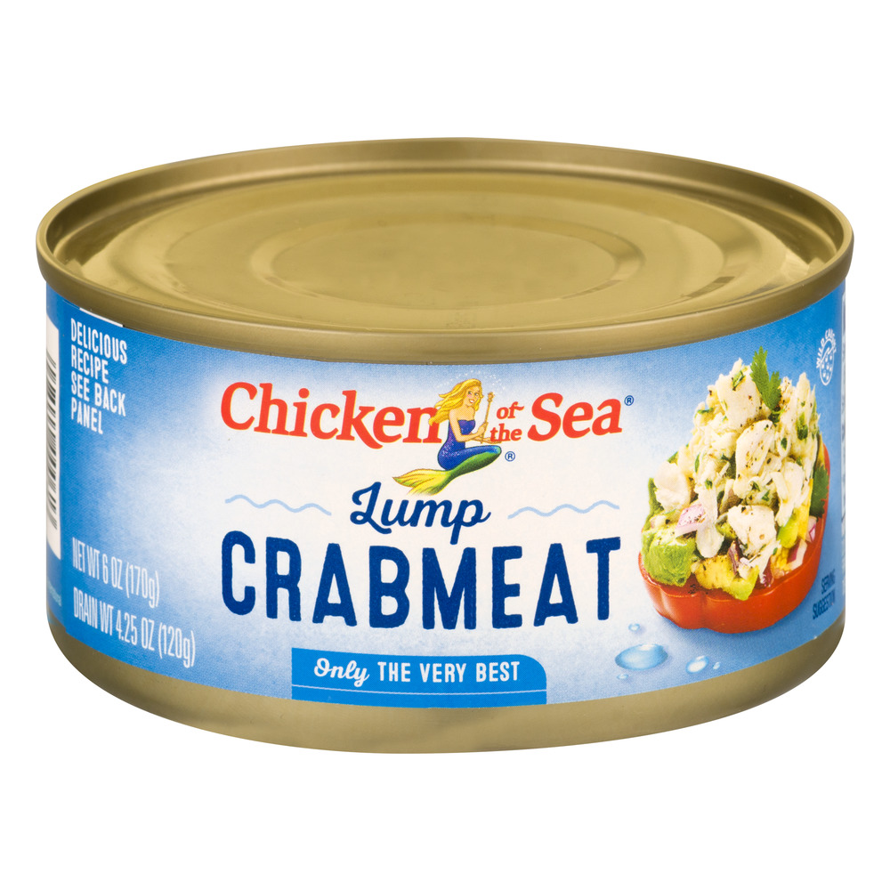 Chicken Of The Sea Lump Crabmeat, 6.0 OZ by Chicken of The Sea International