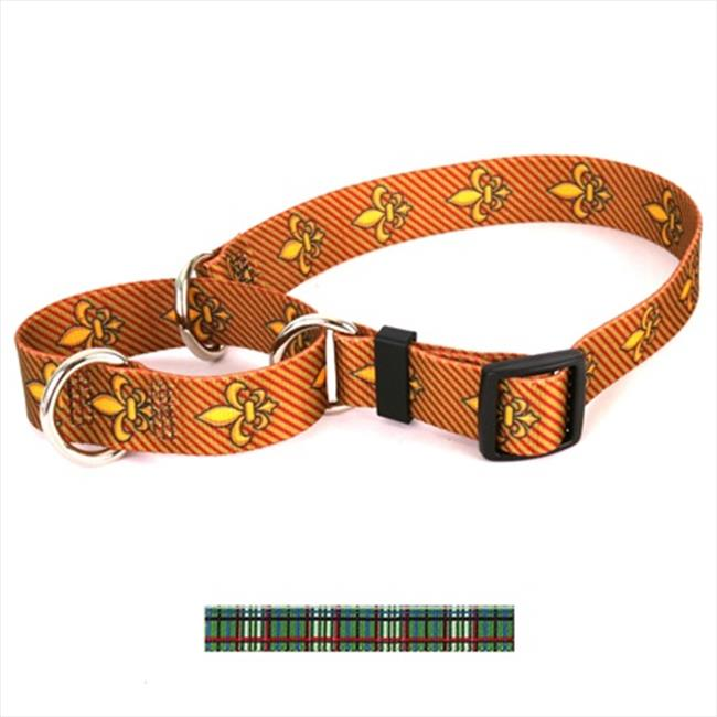 Yellow Dog Design Tartan Martingale Collar - Medium