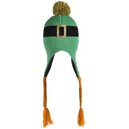 Arcteryx Toque - Saint Patrick's Day Irish Leprechaun Green Knit Winter Beanie Toque Hat