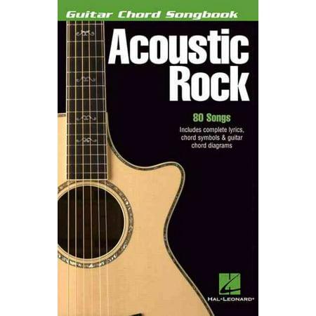 Acoustic Rock: Guitar Chord Songbook