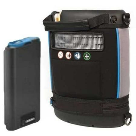 - Invacare Platinum Mobile POC (1-4 Pulse Flow Settings) - Single Battery, POC1-100B