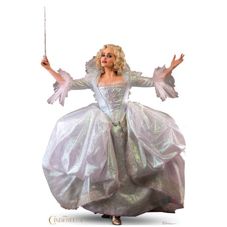 Cinderella the Movie Fairy Godmother Disney Standup Standee Cardboard Cutout (Cinderella In The Cardboard)