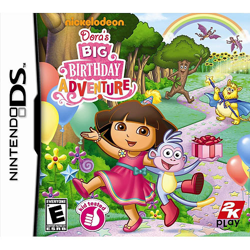 Dora the Explorer: Dora's Big Birthday Adventure - Nintendo DS