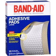 Bandages & Gauze: Band-Aid Adhesive Pads