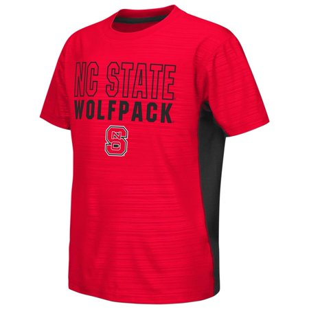 - NCSU NC State Wolfpack Youth Tee Performance Poly Logo T-Shirt
