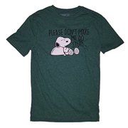 Peanuts Snoopy Please Don't Make Me Do Stuff Graphic T-Shirt X-Large by Hybrid