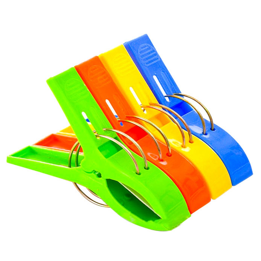 Large Bright Colour Plastic Drying Quilt Clips Sheet Clips ...