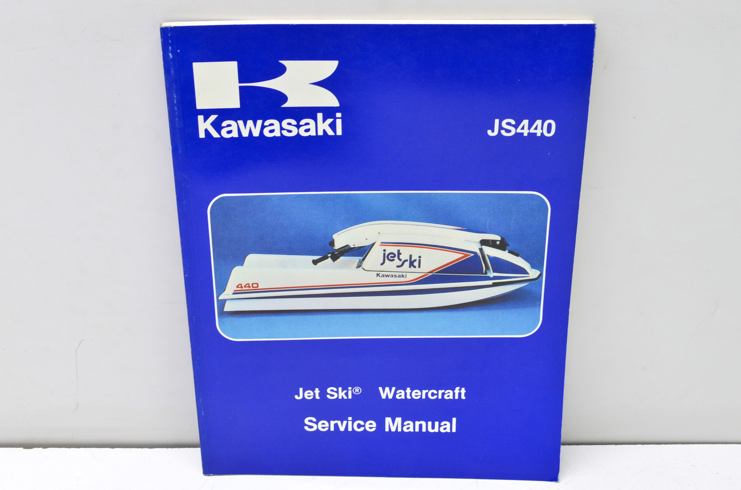 Kawasaki 99963-0001-05 JS440 Jet Ski Watercraft Service Manual QTY 1 -  Walmart.com