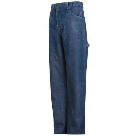 BULWARK PEJ8SW 30X32 Pants, Stone Wash, Excel FR, 30 x 32 In.