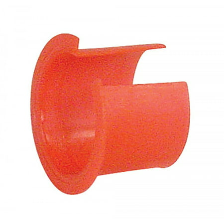 12 Pcs, 3/8 In. Red Thermo Plastic Anti Short Insulating Bushing, Plastic for Use With: 14-4, 12-3, 6-1, 4-1
