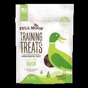 Full Moon All Natural Human Grade Dog Training Treats, Duck, 5 Oz.