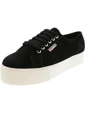 Superga 2750 Cotu Classic Black Ankle-High Canvas Sneaker - 13.5M / 11.5M