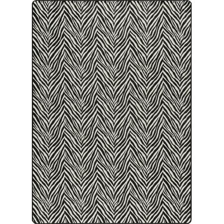 Milliken Imagine Area Rugs - EXOTIC SKINS Animal Prints Savani Striped Lines Waves Zebra Rug