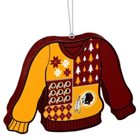 Washington Redskins Official NFL 5.5 inch Foam Ugly Sweater Christmas  Ornament by Forever Collectibles - Walmart.com f8420bcc6