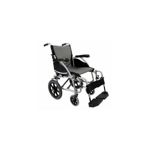 Karman Healthcare S-115F20SS-TP Ergonomic Wheelchair-Pearl Silver