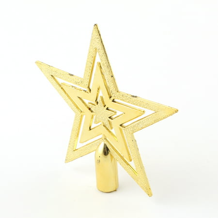 Top Star for Xmas Tree Gold Christmas Adornment (Star For Christmas Tree)