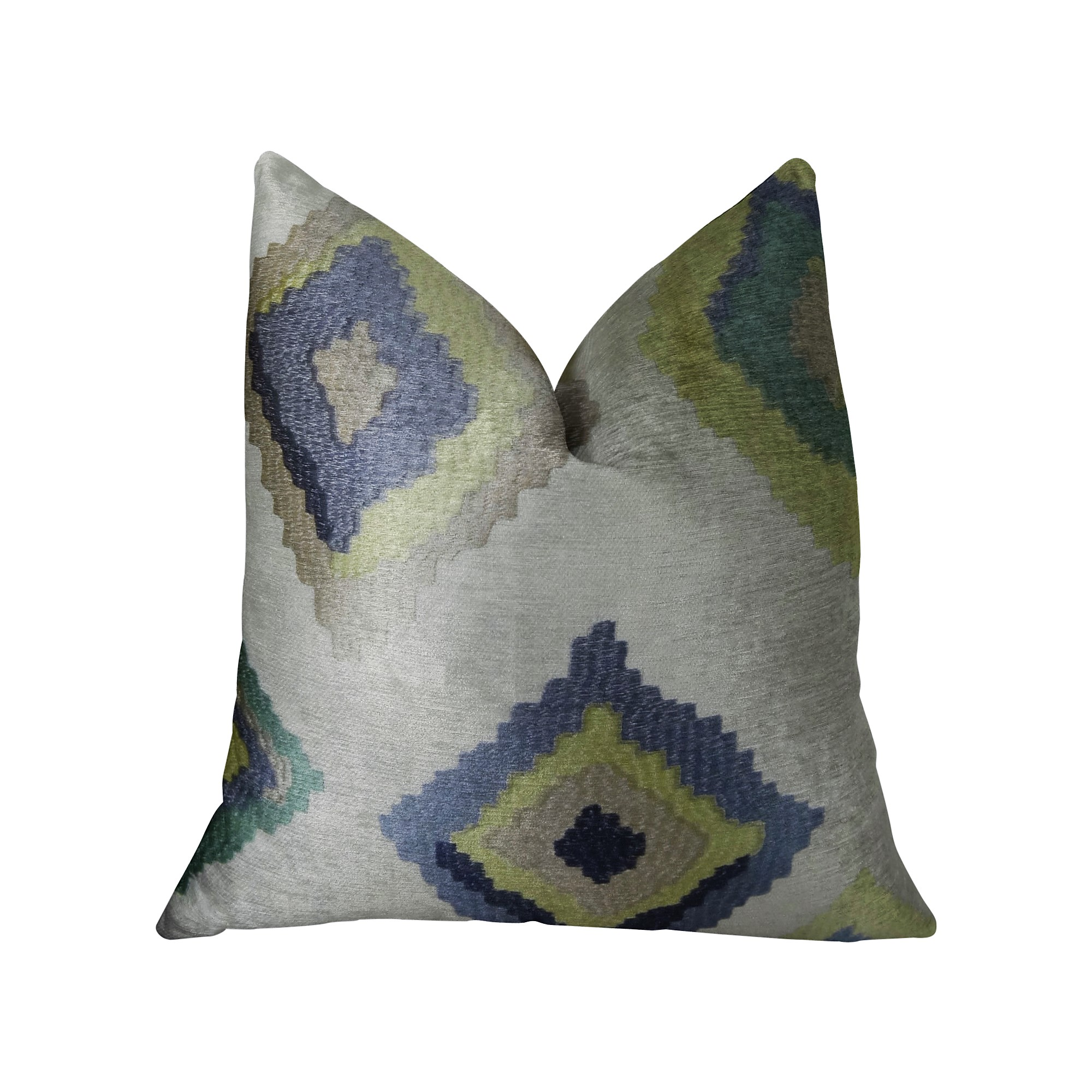 Plutus Native Trail Dew Handmade Throw Pillow, Double Sided