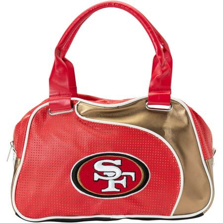 San Francisco 49ers Little Earth Women's Perfect Bowler Purse - No Size
